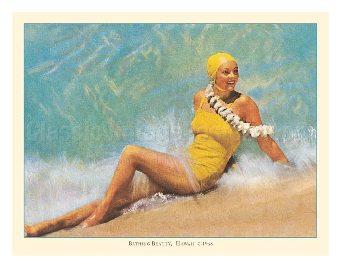 Hawaiian Bathing Beauty, Hawaii