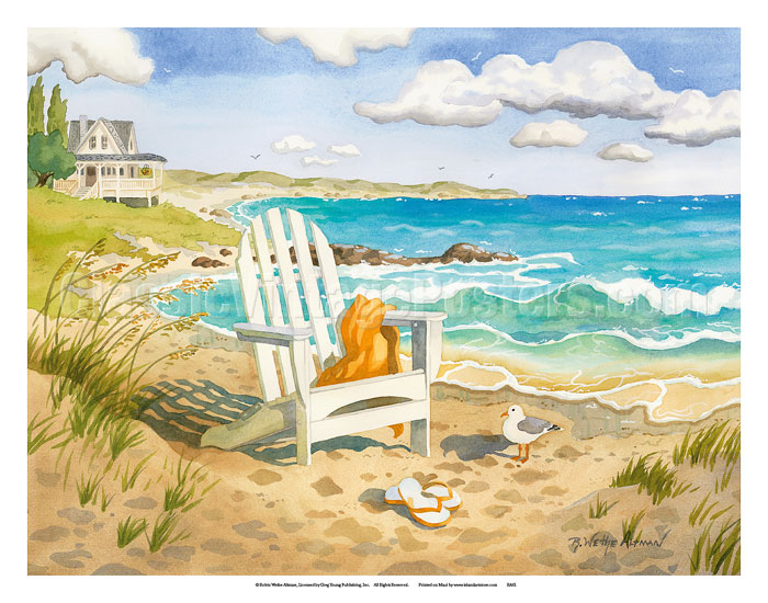 8c0c194ac7 Art Prints & Posters - Waiting For You - A Week at the Beach House ...