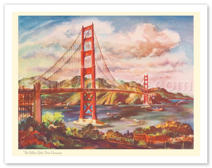 Art Calendar San Francisco : Fine art prints posters the golden gate bridge san