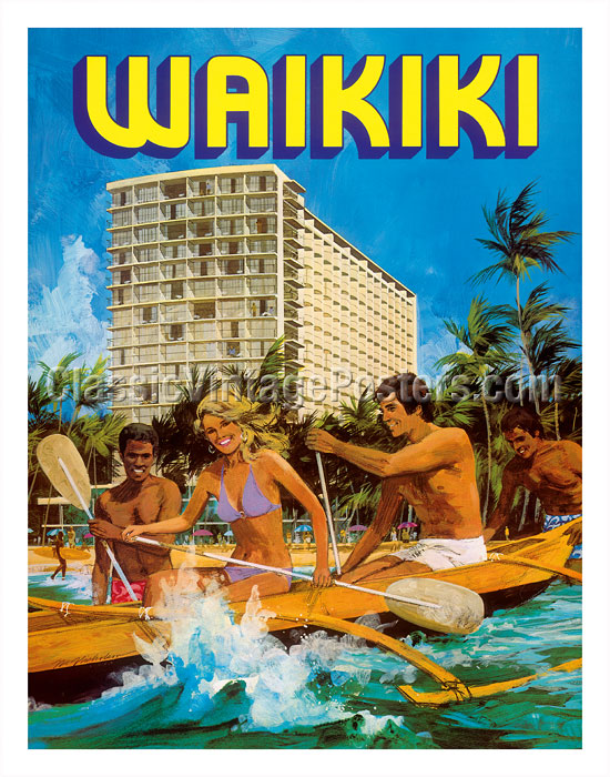 Vintage Travel Poster 11