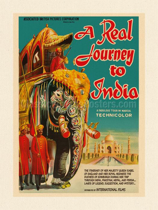Kerne Erickson Egypt India England Vintage Travel Poster Metal Tin Sign