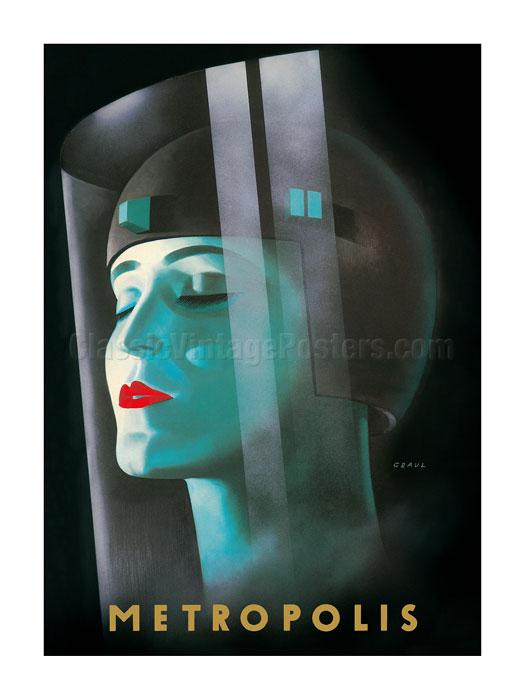 Canvas metropolis by metropolis fritz lang 1927 Art Print Poster