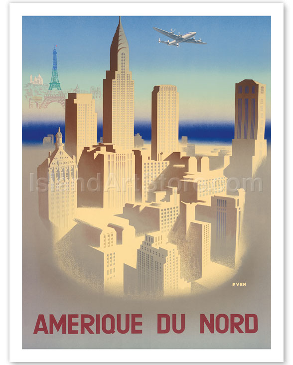 Fine Art Prints & Posters - Amerique Du Nord (North America ...