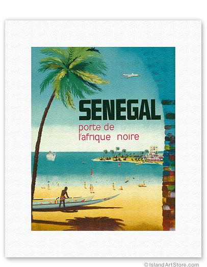 fine art prints posters senegal africa porte de l 39 afrique noire gateway to sub saharan. Black Bedroom Furniture Sets. Home Design Ideas