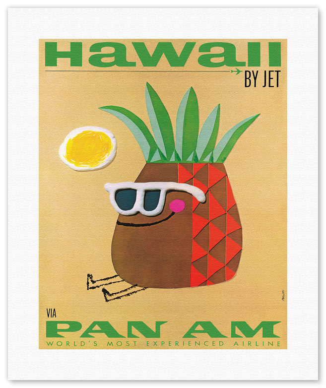 Hawaiian Fine Art Giclee Prints & Posters - Hawaii Vintage Art ...
