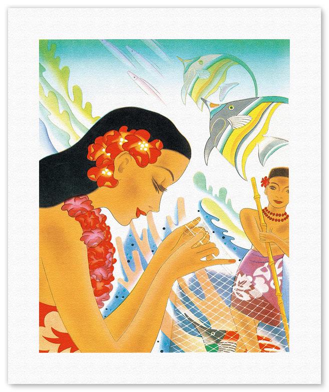 Fine Art Prints & Posters - Hawaiian
