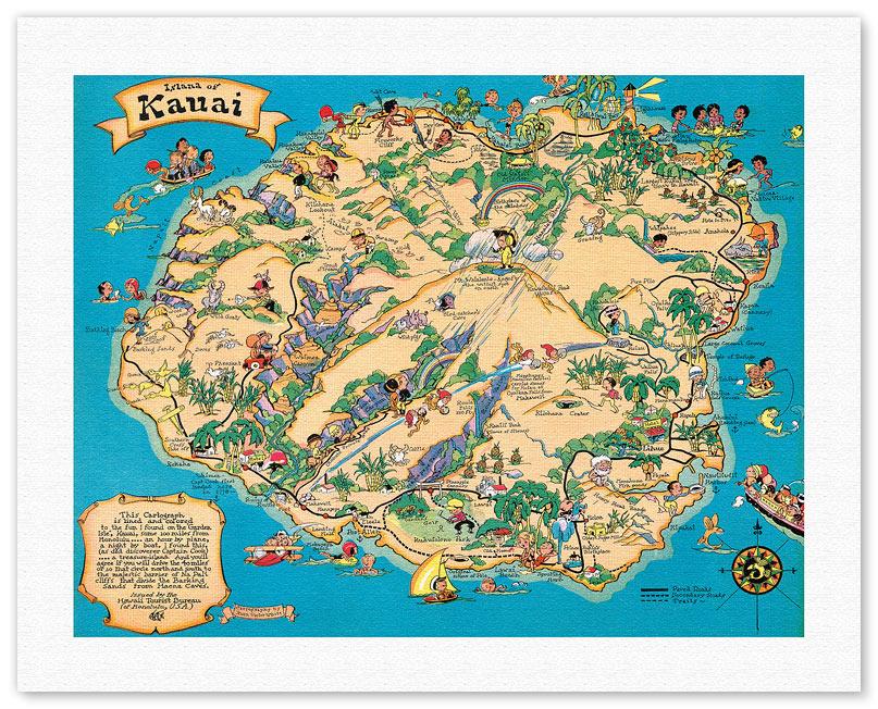 Hawaiian Fine Art Giclee Prints & Posters - Hawaii Vintage Art ...