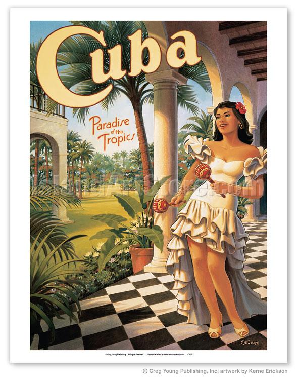 Fine Art Prints Amp Posters Cuba Paradise Of The Tropics